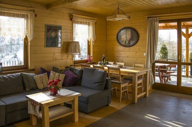 eleganckie wnętrze mieszkalne