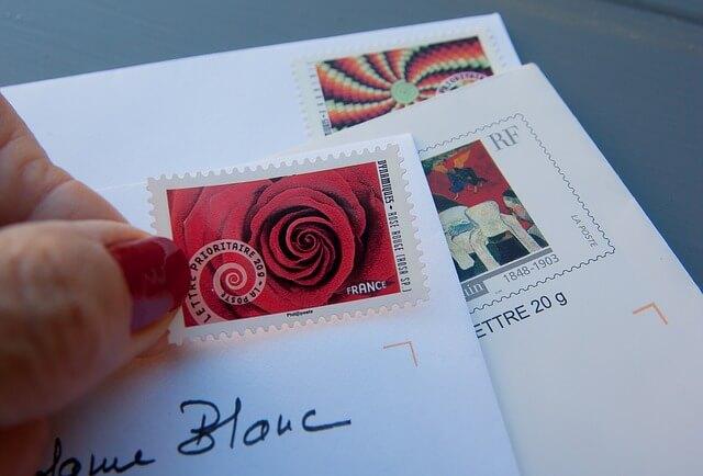Koperty ze znaczkami