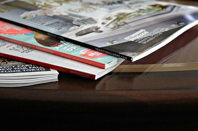 Czasopisma biznesowe - reklama firmy