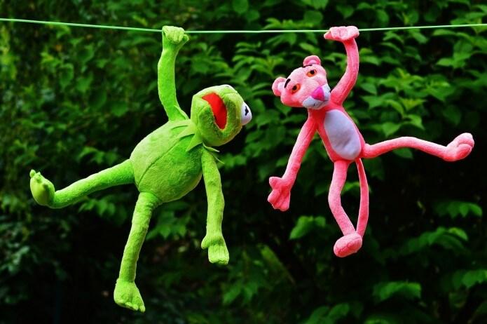 Zabawki dla dzieci przez Internet