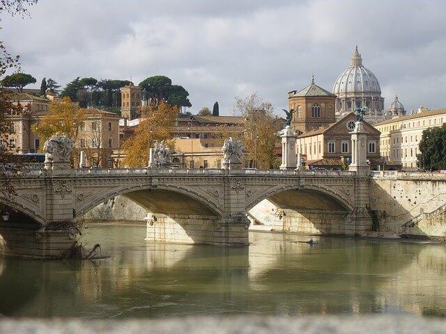 Piękny starożytny Rzym