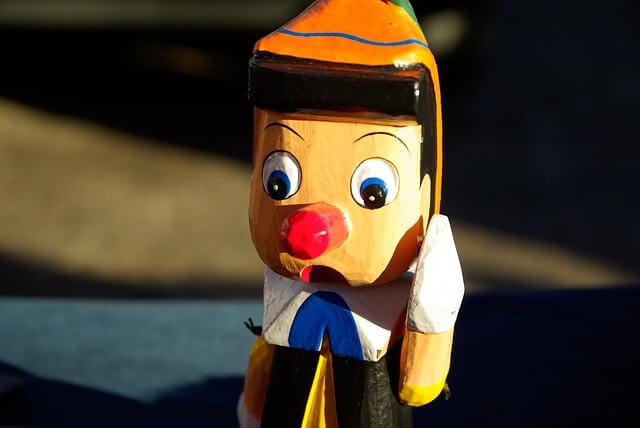 Pinokio-dziecięca kolorowa zabawka