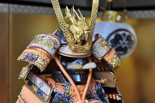 Przepiękna zbroja samuraja