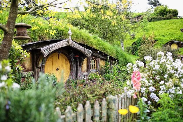 Domek dla małych hobbitów