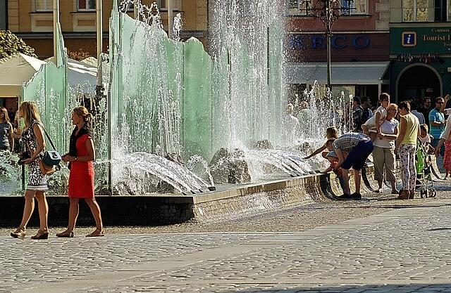 Widowiskowa fontanna wrocławska