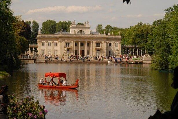 park Łazienki