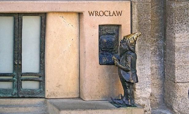 wrocławska figurka krasnala