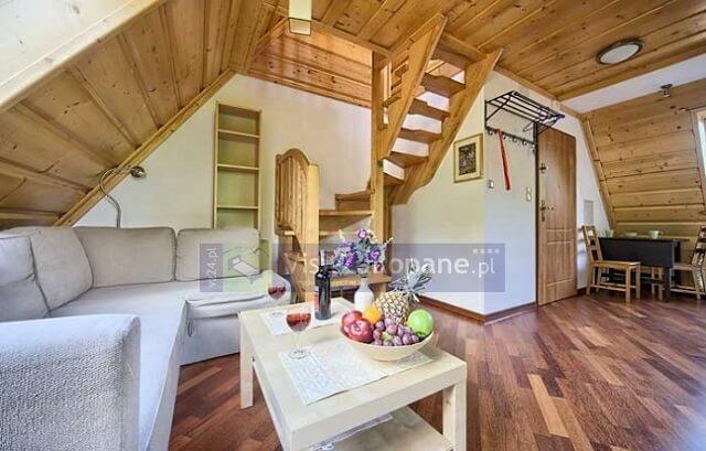 Salon w apartamencie w Zakopanem