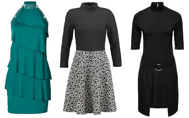 Wybór sukienek z golfem