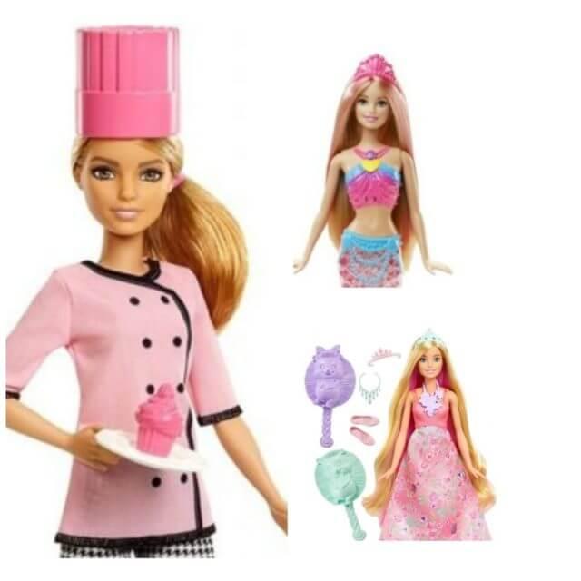 Zestawienie lalek Barbie
