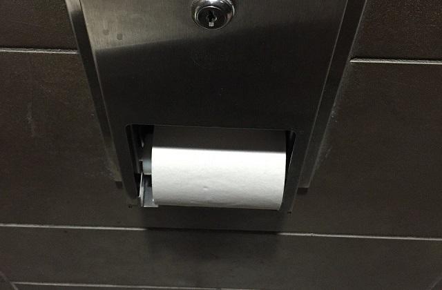 Podajnik na papier toaletowy